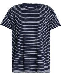 Vince - Striped Pima Cotton Top - Lyst