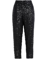 Joie - Aife Sequined Crepe Tapered Pants - Lyst