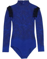 Zuhair Murad - Bodysuits Royal Blue - Lyst