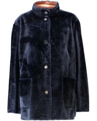 Opening Ceremony | Culver Reversible Faux Fur Coat | Lyst