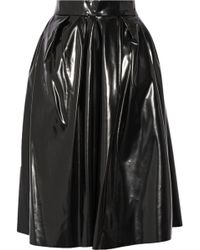 Marc Jacobs | Vinyl Skirt | Lyst