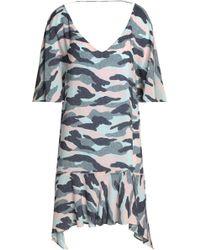 ViX - Printed Gauze Dress - Lyst