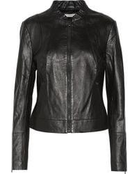 J Brand - Docweiler Leather Biker Jacket - Lyst