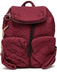 See By Chloé - See By Chloé Woman Joyrider Bisou Quilted Shell Backpack  Plum - Lyst fa99170714a47