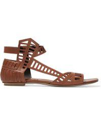 Daniele Michetti - Leather Sandals - Lyst
