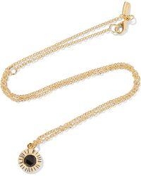 Elizabeth and James - Erro Gold-tone Stone Necklace - Lyst
