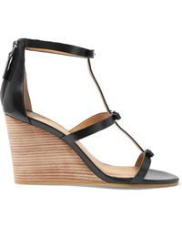 Marc By Marc Jacobs - Leather Wedge Sandals - Lyst