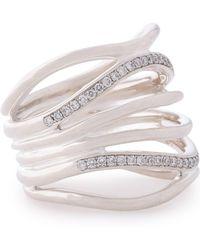 Ippolita - Silver Crystal Ring - Lyst