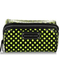 Marc By Marc Jacobs - Polka-dot Pvc And Mesh Cosmetics Case - Lyst