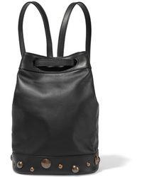 Tomas Maier - - Embellished Leather Backpack - Black - Lyst