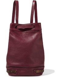 Tomas Maier | Stud-embellished Leather Bucket Bag | Lyst