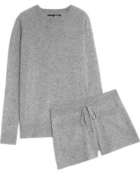 NLST - Cashmere Jumper And Shorts Set - Lyst