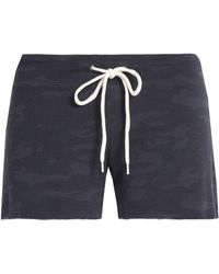 Monrow - Printed Jersey Shorts - Lyst
