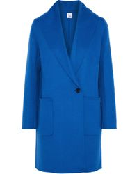 Iris & Ink - Reece Wool And Cashmere-blend Coat - Lyst