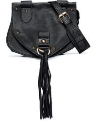 See By Chloé - Tasselled Studded Leather Shoulder Bag - Lyst