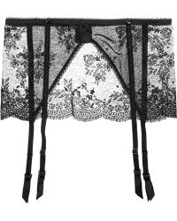 Mimi Holliday by Damaris - Belladonna Lace Suspender Belt - Lyst