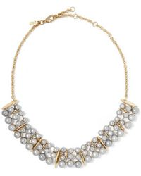 Alexis Bittar - - Gold-tone Faux Pearl Necklace - Lyst