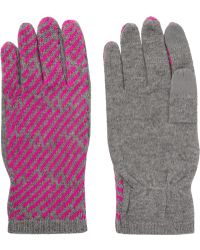 Marc By Marc Jacobs - Wool And Cashmere-blend Gloves - Lyst