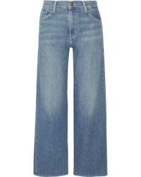 Vince - High-rise Wide-leg Jeans - Lyst