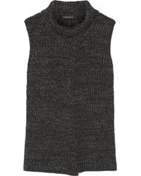 Thakoon - Split-front Merino Wool Jumper - Lyst