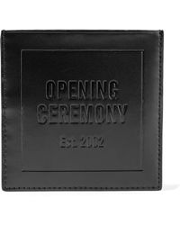 Opening Ceremony | Embossed Leather Cardholder | Lyst