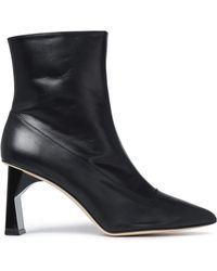 Tibi - Alexis Leather Ankle Boots - Lyst