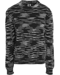 M Missoni - Knitted Sweater - Lyst