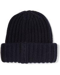 Sandro - Ribbed Wool Beanie - Lyst
