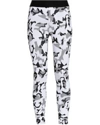 Koral - Printed Stretch-jersey Leggings - Lyst