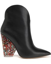 Paul Andrew - Leather Ankle Boots - Lyst