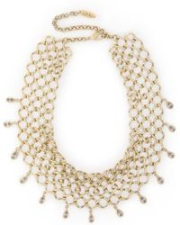Luv Aj - Woman Cosmic Gold-tone Crystal Necklace Gold - Lyst
