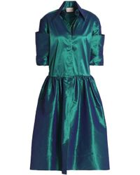 Christopher Kane - Silk-blend Taffeta Dress - Lyst