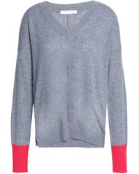 Duffy - Two-tone Cashmere Jumper - Lyst