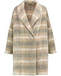 IRO - Checked Wool-blend Coat - Lyst