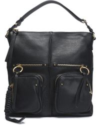 See By Chloé - Patti Textured-leather Tote - Lyst