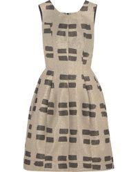 Vivienne Westwood Anglomania - Joan Metallic Jacquard Dress - Lyst