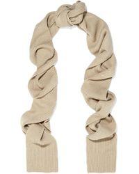 Totême  - Genava Ribbed-knit Scarf - Lyst
