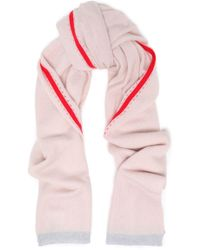 Duffy - Neon-trimmed Cashmere Scarf - Lyst
