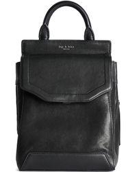 Rag & Bone - Leather Backpack - Lyst