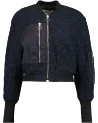 3.1 Phillip Lim | Shell-paneled Quilted Corded Lace Jacket | Lyst