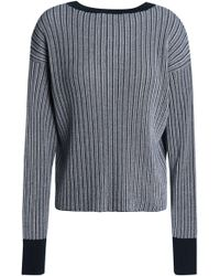 Rag & Bone - Ribbed Cotton Jumper - Lyst