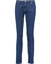 Maison Kitsuné - Mid-rise Skinny Jeans - Lyst