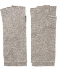 Madeleine Thompson - Cashmere Fingerless Gloves - Lyst
