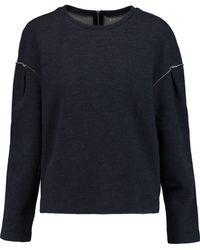 J Brand - Martina Stretch-knit Wool-blend Sweatshirt - Lyst