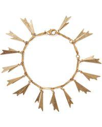 Elizabeth Cole - Genny Gold-tone Bracelet - Lyst