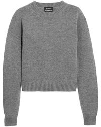 Anthony Vaccarello - Wool And Cashmere-blend Sweater - Lyst