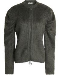 Nina Ricci - Brushed Wool-blend Cardigan - Lyst