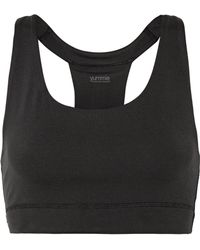 Yummie By Heather Thomson - Janet Stretch-jersey Sports Bra - Lyst