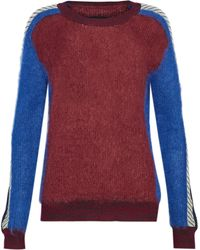 By Malene Birger - Intarsia Mohair-blend Sweater - Lyst