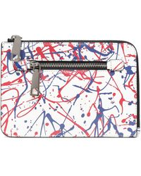 Marc Jacobs - Printed Textured-leather Kindle Case - Lyst